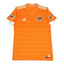 Houston Dynamo MLS Adidas Men's Bright Orange Climacool On-Field Jersey