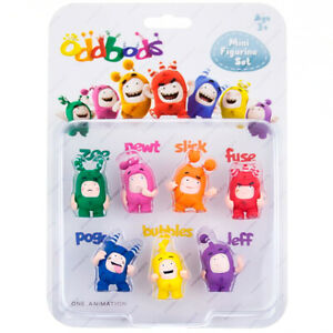 ODDBODS AF3001X, Mini Figurine Set of 7 pc., Chuddiki, RP2