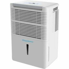 Keystone 50 Pint Dehumidifier with Built-in Pump White Kstad506Pd