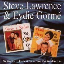 STEVE LAWRENCE & EYDIE GORME - WE GOT US / SING THE GOLDEN HITS CD NEW!