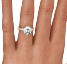 1.75 CT APPRAISED EARTH MINED 14 KT ROSE GOLD RED DIAMOND RING ROUND ENCHANTING
