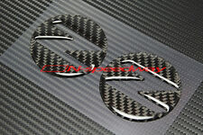 For 03~08 Nissan Fairlady 350Z Z33 Carbon Fiber Side Fender Emblem Filler Decal