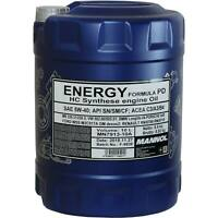 10 Liter Original MANNOL Motoröl Energy Formula PD 5W-40 Engine Oil Öl
