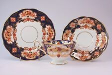 VINTAGE ROYAL ALBERT HEIRLOOM ENGLISH FINE BONE CHINA TRIO