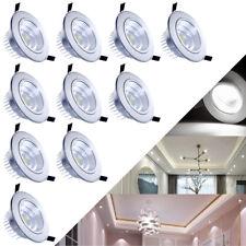 LED COB Spot Einbauleuchte Einbaustrahler Decken Leuchte Lampe Schwenkbar *I02