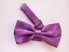 LOT OF 10 Light Violet Purple Men's Adjustable Bowties/Bow tie Tuxedo Wedding