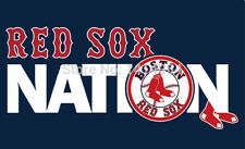 """MLB Boston Red Sox """"Red Sox Nation"""" Banner Flag - 3X5 FT"""