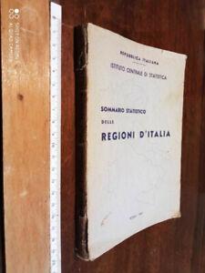 LIBRO:Sommario statistico delle regioni d'Italia