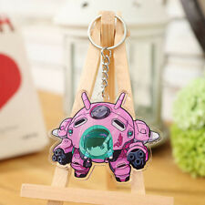 Game Overwatch OW D.Va Acrylic Key Chain Keyring Anime Cosplay Gift