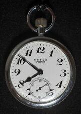 Japan Railway Seiko Pocket Watch Manual Hand Wind