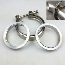 "3"" inch Stainless Steel #304 V band Clamp Flange Turbo Exhaust Down Pipe"