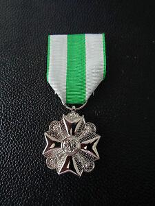 A24-016  Belgisches Medal Fire-Brigade Cross  - silver Feuerwehr