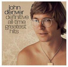JOHN DENVER CD - DEFINITIVE ALL-TIME GREATEST HITS [2CD](2004) - NEW UNOPENED