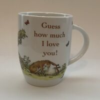 Konitz Mug Germany Guess How Much I Love You Collection 12 OZ Rabbit Baby White