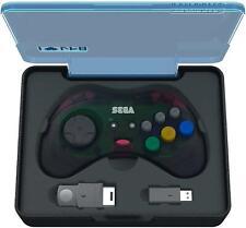 Sega Saturn 2.4g 8-Button Arcade Pad - Grey by Retro-Bit - UK Dispatch