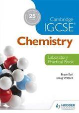 Cambridge IGCSE Chemistry Laboratory Practical Book by Bryan Earl 9781444192209