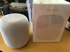Apple HomePod Bluetooth/WiFi Smart Speaker - White (MQHV2LL/A)
