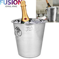 Champagne Wine Bucket Stainless Steel Water Beer Drink Ice Cooler Bar Party Home