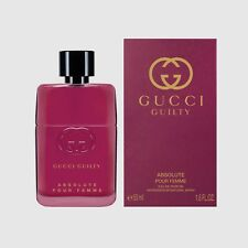 Gucci Guilty Absolute Pour Femme 50ml eau de parfum Sealed Box New Launch 2018