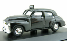 Road Ragers - Australian 1948 Holden FX sedan - Police car black - H0 Scale 1:87