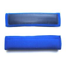 2 x Weiche bequeme Gurtpolster Polster Gurtschoner blau 26 x 6 cm