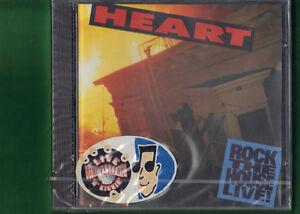 HEART - ROCK THE HOUSE LIVE CD NUOVO SIGILLATO