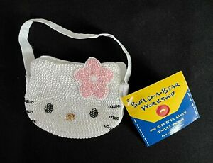 Build-A-Bear White Hello Kitty Purse/Bag **NEW WITH TAG**