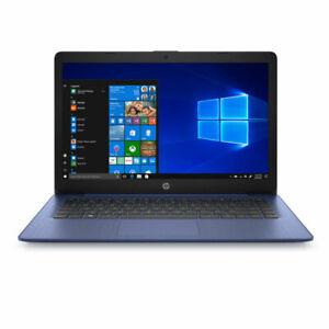 """HP Stream 14"""" HD Intel N4000 4GB RAM 64GB 14-cb171wm BT Win 10 Blue BRAND NEW"""