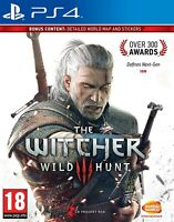 The Witcher 3 III Wild Hunt Playstation 4 PS4 Namco Hunting Battle - Brand New!