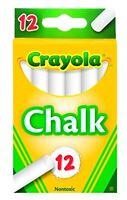 Crayola White Chalk 12 each (51-0320)