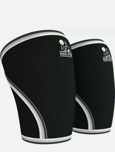 Nordic Lifting Knee Sleeves (1 Pair) Support  Compression for Weightlifting, S