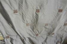 100% Pure Silk St Maeteen Chocolate  Curtain fabric 5m