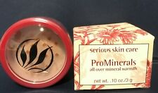 Serious Skin Care ProMinerals Loose Mineral Blush in GOLDEN TAN .1 oz NIB