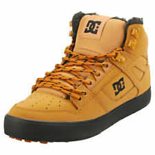 DC Shoes Pure High-top Wc Mens Wheat Leather Casual Trainers