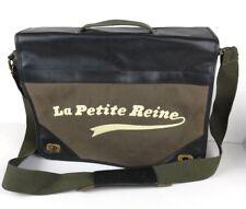 """NIKE Messenger Bag """"La Petite Reine"""" Little Bicycle RARE Leather Tour de France"""