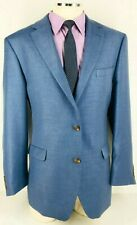 44L NWOT Chaps Ralph Lauren Mens 2 Button Sport Coat Jacket Denim Blue