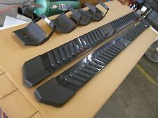 "Ford 2015 2016 F150 Truck Running Boards Painted Grey 6"" Crew Cab New T/Off OEM"