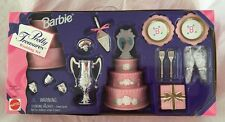 1996 MIB Barbie Pretty Treasures WEDDING SET Miniature Doll Accessories SEALED