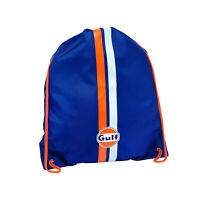 Gulf Racing Motorsport Team Le Mans Pullsbag Pull String Gym Bag Swimming Kit