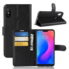 For Xiaomi Redmi 6 PRO /Mi A2 Lite Flip Magnetic Wallet PU Leather Case Cover