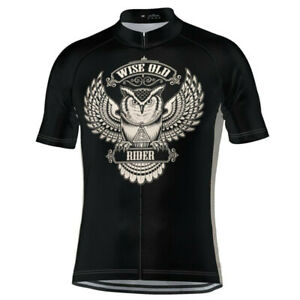 Wise Old Rider Cycling Jersey Cycling Short Sleeve Jersey