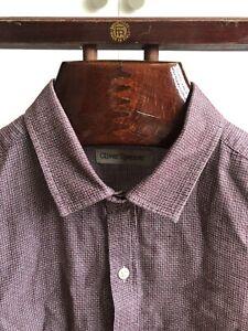 Oliver Spencer 15.5 Red Tab Shirt