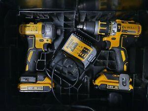 DeWalt DCK2510L3T-GB 2x2.0Ah XR Brushless Cordless Twin Pack Drill Impact Driver