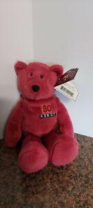 1998 Limited Treasures Pro Bears San Francisco 49ers Jerry Rice # 80 Bean Bear