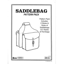 Saddlebag Pattern Pack 6030-00 by Tandy Leather