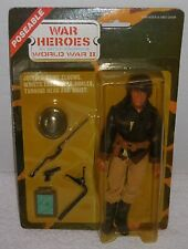 "Vintage MEGO/LION ROCK 1974/1980's WWII WAR HEROES 7"" Figure US FIGHTER PILOT"