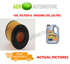 DIESEL OIL FILTER + LL 5W30 ENGINE OIL FOR OPEL ASTRA GTC 1.7 80 BHP 2005-06