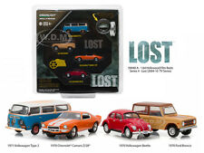 HOLLYWOOD FILM REELS SERIES 4, 4PC SET LOST TV SERIES 1/64 BY GREENLIGHT 59040 A