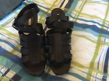 Zara Basic Black Leather Wrap Strap High Heels Size 8/39 NWOB Retail $79.99