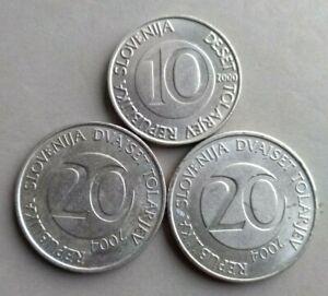 10,20 tolarjev Slovenia 2000,204, VF-EF